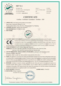 CE Certification for PVC profiles and uPVC machinery