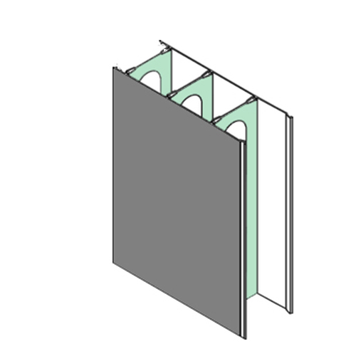 Plastic Extrusion Profiles Rigid UPVC Extrusion Profiles for Concrete Formwork