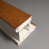 Wood Grain Imitation Laminated UPVC Profiles